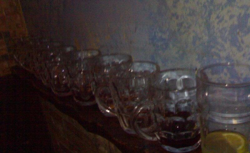 Vasos de bebida