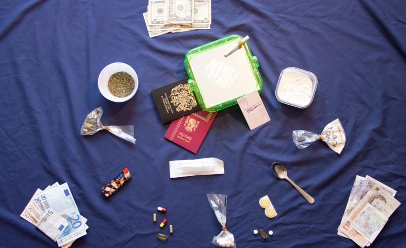 utensilios de droga