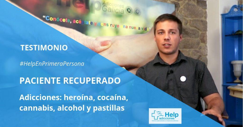 Un paciente rehabilitado nos cuenta sus experiencia con las drogas y el resultado de su tratamiento