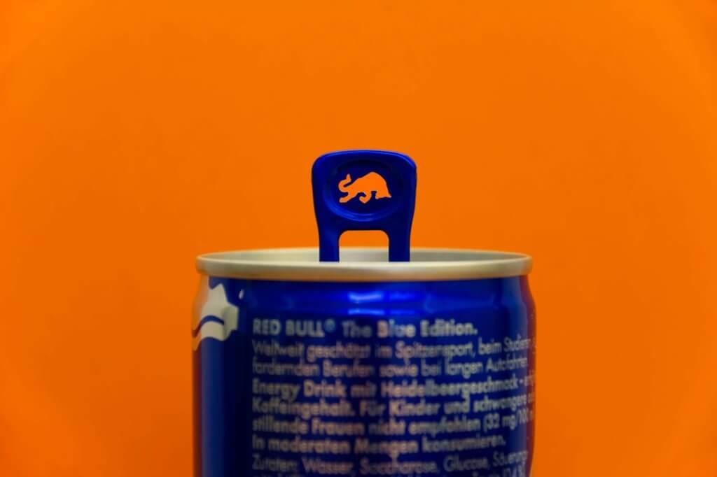 Imagen de una lata de bebida energética