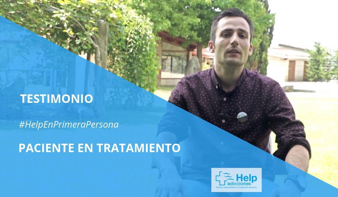 """Testimonio de un paciente en recuperación: """"el tratamiento me está cambiando la vida"""""""