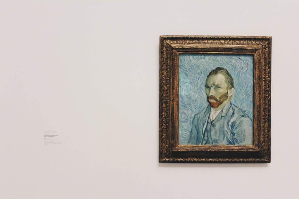 Un auto retrato de van gogh