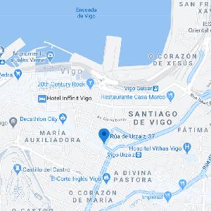 mapa consulta Help en Vigo